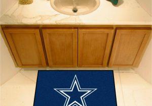Dallas Cowboys Bath Rugs Fanmats Nfl Dallas Cowboys Rookie Mat area Rug