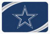Dallas Cowboys Bath Rugs Nfl Dallas Cowboys 20 X 30 Round Edge Bath Rug 1 Each