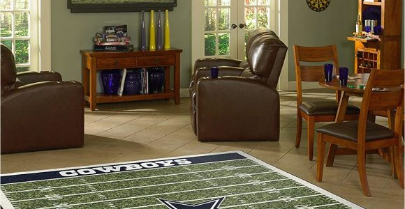 Dallas Cowboys Football Field area Rug Amazon Imperial Ficially Licensed Home Furnishings