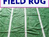 Dallas Cowboys Football Field area Rug Easy Football Party Decor Diy Football Field area Rug
