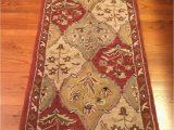 Dalyn Casual Elegance area Rug Dalyn Rug Co Wool 2 3×8 Runner Jewel Design Color Paprika 2003 India