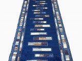 Dark Blue Rug Runner Emirates Modern Long Runner Rug Dark Blue Design 504 31 Inch X 15 Feet 8 Inch