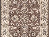 Dark Brown 8×10 area Rug Superior Lille 8 X 10 area Rug Contemporary Living Room & Bedroom area Rug Anti Static and Water Repellent for Residential or Mercial Use