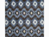 Dark Brown and Blue area Rug Safavieh Retro Collection Ret2143 2865 Dark Brown and Blue