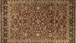 Dark Brown and Blue area Rug Shop Kafkaz Kelli Brown and Dark Blue Wool Peshawar area