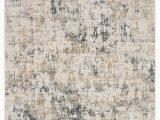 Dark Gray and White area Rug Arvo Abstract White Dark Gray area Rug 2 X3