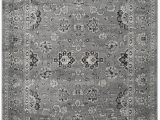 Dark Gray and White area Rug Safavieh Vintage Vtg 442 area Rugs