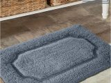 Dark Grey Bathroom Rug Set Add A Color and fort to Your Bathroom Dark Grey Tufted