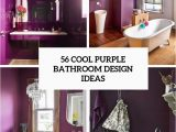 Dark Purple Bath Rugs 56 Cool Purple Bathroom Design Ideas Digsdigs