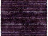 Dark Purple Bathroom Rug Set Contemporary Shag Rugs Savona Flokati