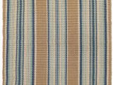 Dash and Albert Blue Rug Dash Albert Blue Heron Stripe Rug