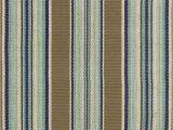 Dash and Albert Blue Rug Dash and Albert Blue 56167 Heron Stripe area Rug