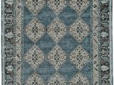 Deep Blue area Rug Classique Collection Cl 4 Deep Blue Rug