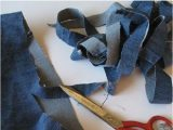 Denim Blue Bath Rug How to Turn Old Jeans Into A Bath Mat