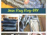 Denim Rugs Blue Jeans Denim Rug Give Old Jeans New Life