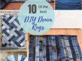 Denim Rugs Blue Jeans How to Make A Blue Jean Rug 12 Unique Ways