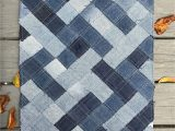 Denim Rugs Blue Jeans How to Make A Woven Throw Rug Out Of Recycled Denim Jeans
