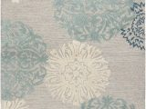 Desa Bordered Wool Rug Blue Rizzy Home Dimensions Di 2241 area Rugs