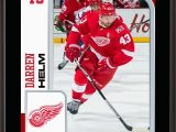 """Detroit Red Wings area Rug Darren Helm Detroit Red Wings 10 5"""" X 13"""" Sublimated Player Plaque Walmart"""