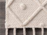 Diamond Handloom Bath Rug Rugs Usa Waffell Diamond Textured Trellis Tassel Rug