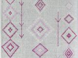 Diamond Motif Zen Light Gray area Rug Lali Gray area Rug