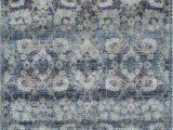 Diamond Scroll Blue Rug Blue Ovals Diamonds Vines Scrolls Contemporary area Rug Floral An5