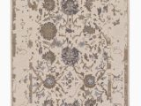 Diva at Home area Rugs 8 X 10 Persian Dynasty Oatmeal White and Olive Brown Hand