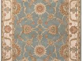 Diva at Home area Rugs Diva at Home 8 X 10 Artemis Brown Green White and Red