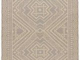 Diva at Home area Rugs Diva at Home 9 X 12' Brown and Cream Tribal Flat