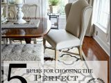 Do area Rugs Go Under Furniture 5 Rules for Choosing the Perfect Dining Room Rug Stonegable