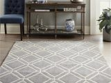 Does Lowes Sell area Rugs Allen Roth Shae 8 X 10 Grey Indoor Geometric Mid Century Modern area Rug