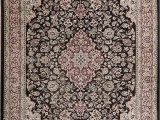 Does Ross Have area Rugs Floral Traditional Turkish Black New oriental area Rug
