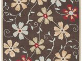 Does Ross Have area Rugs Ross Hand Hooked Wool Brown Red area Rug
