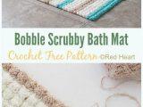Double Sided Bathroom Rugs Bath Rug & Bathmat Free Crochet Patterns