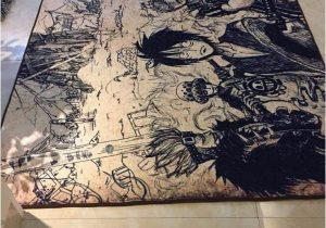 Dragon Ball Z area Rug Dragon Ball Z Carpet Goku & Ve A