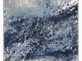 Elara Blue Gray area Rug Elara Abstract Blue Gray area Rug