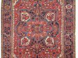 Essary Blue area Rug Antique Karaja Rug Jf5096 Rugs Antique Persian Rug Antiques