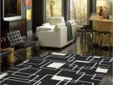 Extra Large Square area Rugs Black and area Rug for Living Room Under Inexpensive Extra