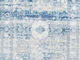Faded Blue area Rug Bosphorus Distressed Persian Blue Rug Distressed Persian