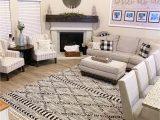 Farmhouse Living Room area Rugs Warrandyte area Rug In 2020