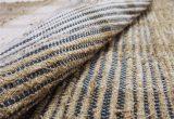 Farmhouse Style Bathroom Rugs Rustic Bath Mat Natural Fiber Rug Linen Bath Mat