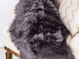 Faux Fur area Rug 8×10 Amazon Home Must Haves Sheep Skin Super soft Faux Fur