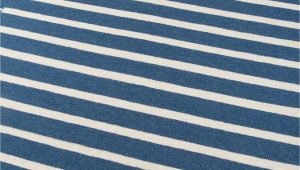 Flat Weave Blue Rug Blue and White Striped southwest Flatweave Rug Erin Gates Thompson