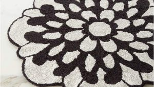 Flower Shaped Bathroom Rugs Missoni Home Otil Reversible Flower Shaped Bath Rug