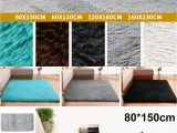 Fluffy Rugs for Bathroom Bathmats Rugs and toilet Covers Non Slip Shaggy area