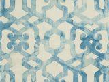 Frederick Hand Hooked Wool Blush area Rug Frederick Geometric Handmade Tufted Ocean area Rug