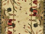 French Country Style area Rugs Details About French Country Farm Rugs Rooster Cock area Rug Beige Farmhouse Classic Style