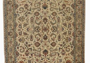 French Country Wool area Rugs Vintage Persian Tabriz area Rug with French Country