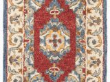 Gaines Hand Woven Natural area Rug by Charlton Home Clymer Antiquity Hand Tufted Wool Cotton Blue area Rug