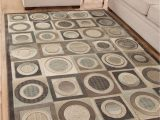 Gaines Hand Woven Natural area Rug by Charlton Home Seymour Color Tan Size 5 X 8